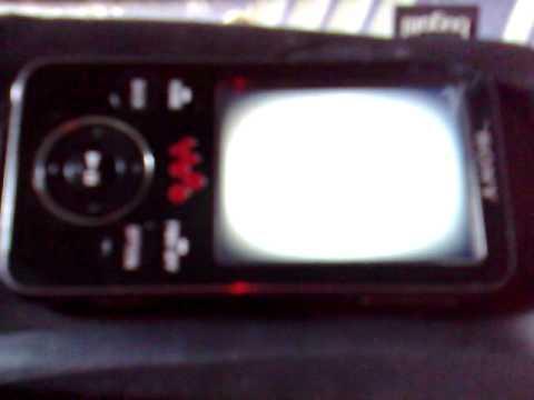 Sony Mp3 Player Broken