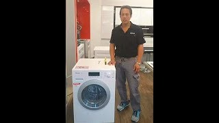 Miele洗衣機安裝說明