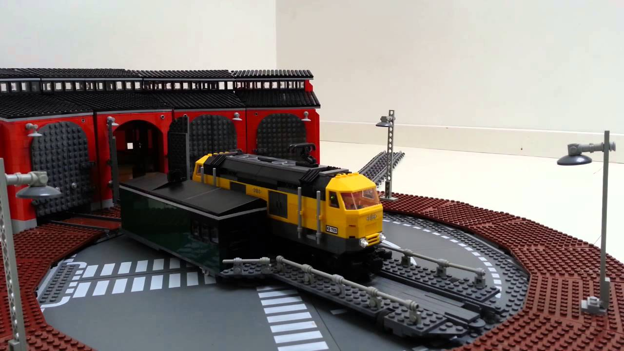 LEGO IDEAS - Product Ideas - Train Turntable and Roundhouse