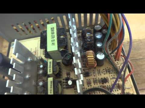 Atx power supply voltage drop
