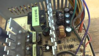ATX PC power supply diagnostic and repair.