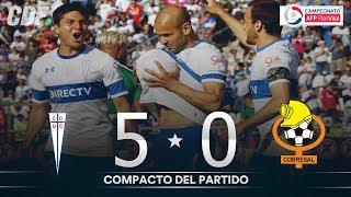 Universidad Católica 5 - 0 Cobresal | Campeonato AFP PlanVital 2019 Segunda Fase | Fecha 9 | CDF