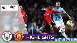 Spannendes Manchester Derby! | Manchester City - Manchester United 1:2 | Highlights - Premier League