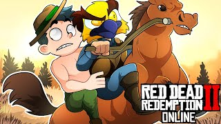 This thumbnail is exactly what you think it is 🤔 [Red Dead Redemption 2 Online Funny Moments]