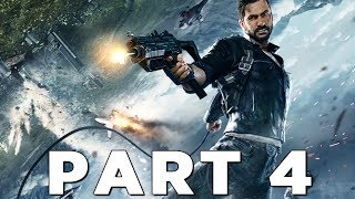 FLYING INTO A TORNADO in JUST CAUSE 4 Walkthrough Gameplay Part 4 (JC4)