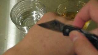 Inexpensive Bloody Knife Wound Trick - The Chemical Way