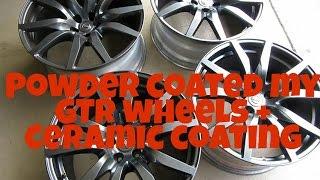 Video Powder coated GTR wheels + Ceramic coating (Gyeon Rim) download MP3, 3GP, MP4, WEBM, AVI, FLV Juli 2018