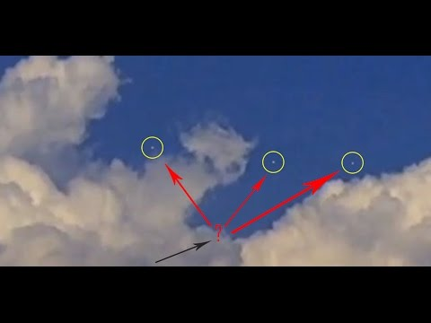 UFOs video over NASA Jet Propulsion Laboratory (JPL)