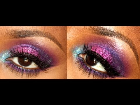 Rock Star Party Makeup! - YouTube