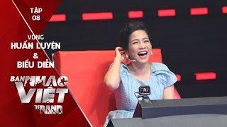 BAN NHẠC VIỆT 2017 | Tập 8 Full HD: Mỹ Linh bị trêu chọc vì thích người hát giọng trầm