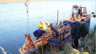 Оборудование добычи и промывки речного песка(, 2015-11-15T18:01:26.000Z)