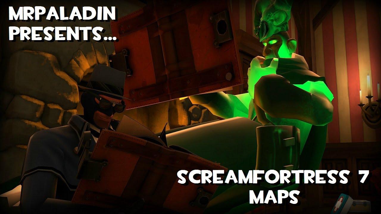 ScreamFortress 7 Maps (TF2 Halloween 2015) - YouTube