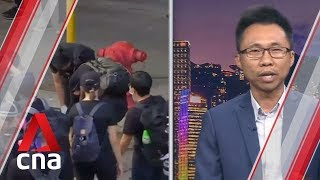 Hong Kong leader Carrie Lam tells US not to 'interfere' in protests