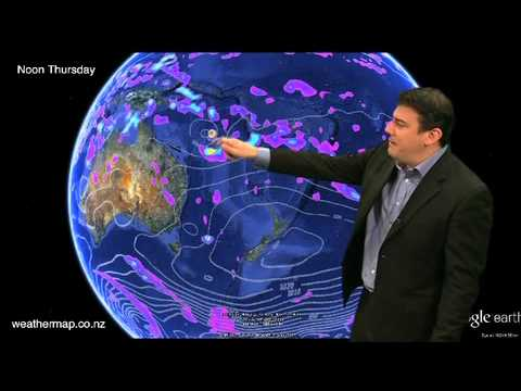 Weather Video: Cyclone about to form north of NZ