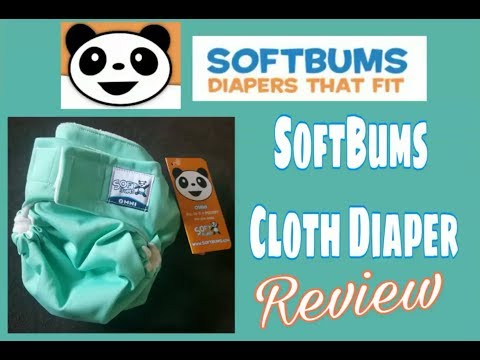 Official Softbums Omni Cloth Diaper Review! On 2 Babies!
