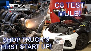 Shop Truck Fires Up! Plus We Find One Of The C8 Corvette Test Mules!