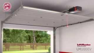 lm100ev garag door opener with myq technology