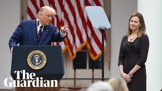 Trump nominates Amy Coney Barrett to US supreme court