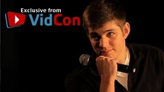 VidCon 2012 - Sam xJawz On Becoming a Gamer Youtube Sensation