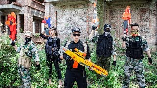 NERF WAR : S.W.A.T Warriors Nerf Guns Fight Attack Suicide Squad Mask Rescue Alpha