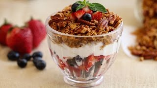 Homemade Granola (maple & Pecan) - Gemma's Bold Baking Breakfast Ep. 1