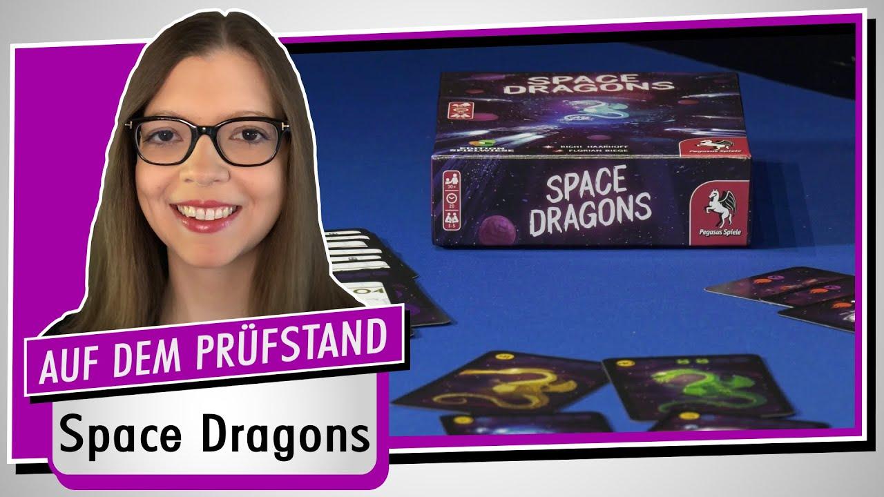 Spiel doch mal SPACE DRAGONS! - Brettspiel Rezension Meinung Test #377