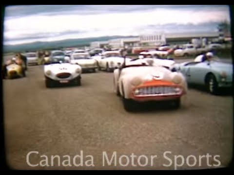 1960 Claresholm Sports Car Race - Historic 16mm film
