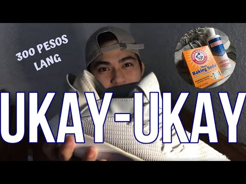 How To Clean Shoes Using Baking Soda and Agua Oxigenada I  DAMMY's Tips Vlog