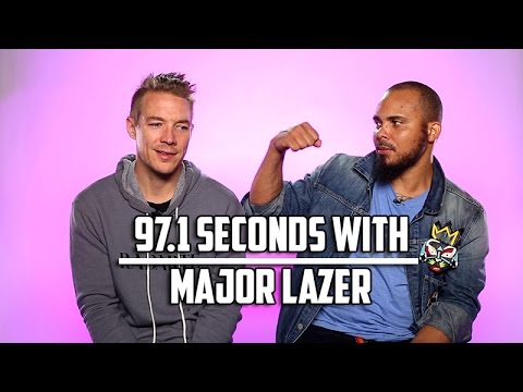 Major Lazer Tells Us How To Get Their Attention on Twitter: 97.1 Seconds With