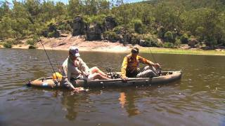 Fishing Australia 2010, Bass Fishing  Bass Lodge Maclay River
