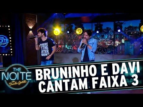Bruninho e Davi cantam Faixa 3 | The Noite (20/09/17)