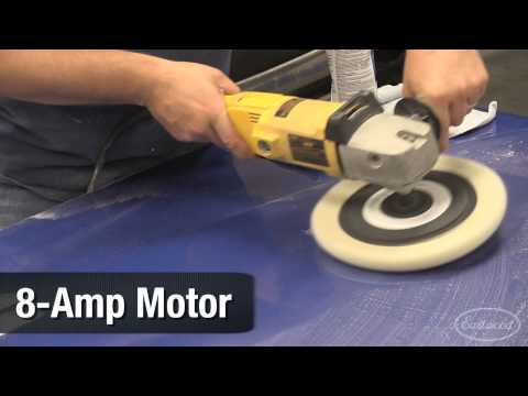 """Auto Detailing with Dewalt 1000/3000RPM 7""""& 9"""" Buffmaster Polisher from Eastwood"""
