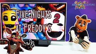 КИРИЛЛ играет в ПЯТЬ НОЧЕЙ С ФРЕДДИ 2 FIVE NIGHTS AT FREDDYS 2 Обзор приложения Видео для детей