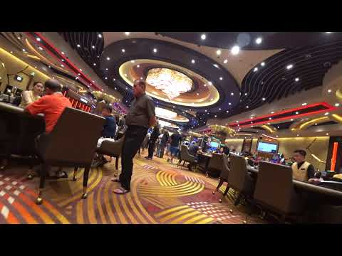 City Of Dream Casino, Manila 시티오브드림 카지노 촬영
