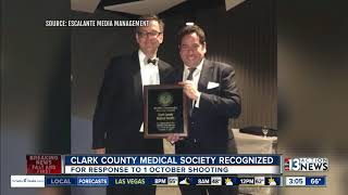 Clark County Medical Society recognized