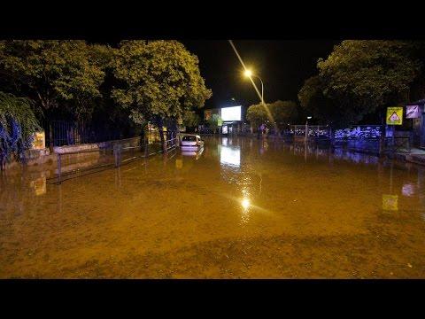 Inundación COMEDORES UNIVERSITARIOS GRANADA 2 OCTUBRE 2014 - YouTube