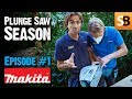MAKITA SP6000J Plunge Cut Track Saw - Episode 1
