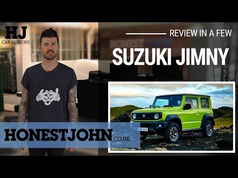Car review in a few   2019 Suzuki Jimmy - bafflingly brilliant