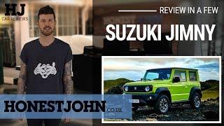 Car review in a few | 2019 Suzuki Jimny - bafflingly brilliant