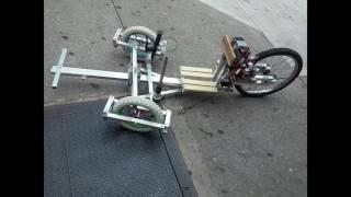 Trike ride and crash!