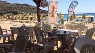 Один день по пляжам Родоса