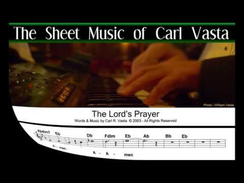 THE LORD'S PRAYER SONG -  The Sheet Music & Chords