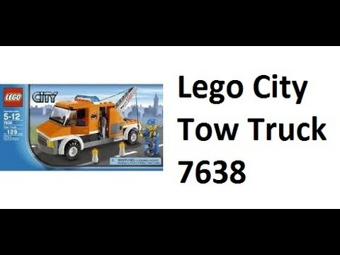 LEGO) Lego City Tow Truck 7638 REVIEW - YouTube