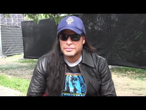 METALLICA'S Robert Trujillo interview at Lollapalooza Santiago, Chile 2017