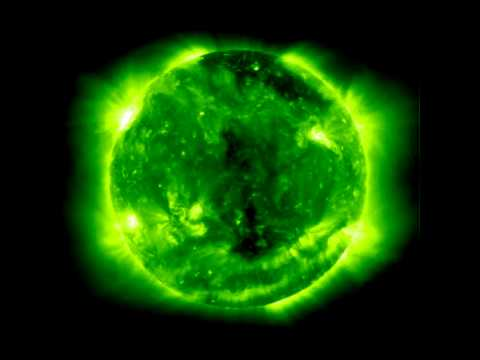 Full-Sun SOHO-EIT ultraviolet movie.