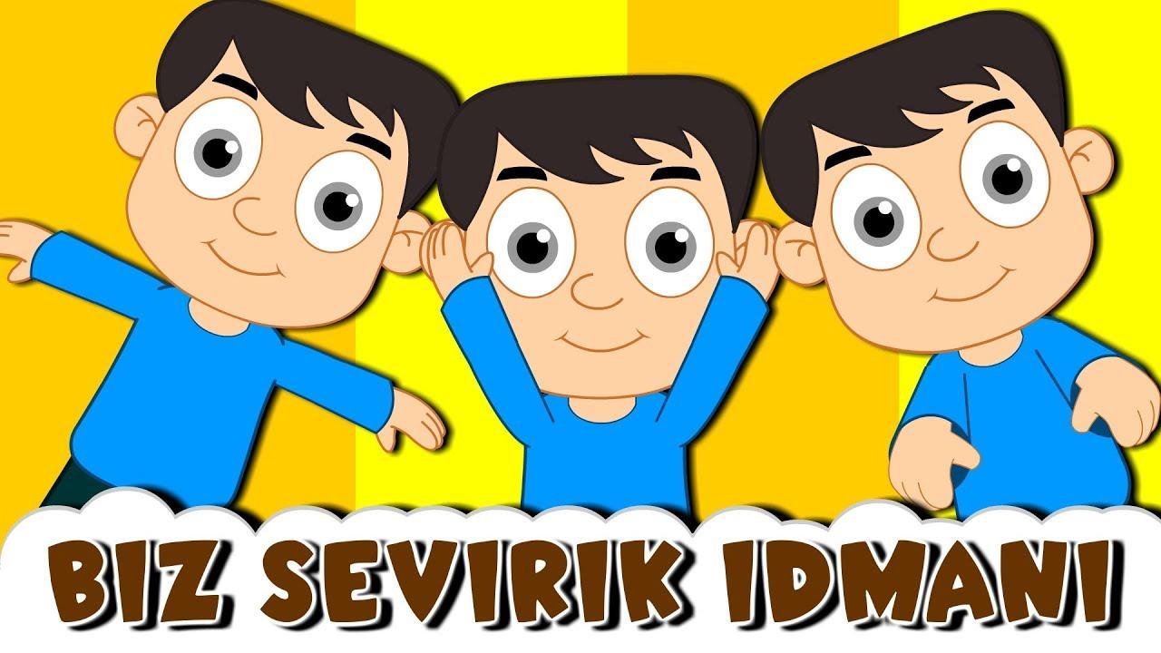 Biz Sevirik Idmani Mahnisi Usaq Mahnilari Kim Sevirse Idmani Azerbaycan Usaq Mahnilari Youtube