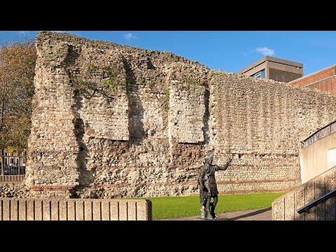 London Wall HD Documentary 1800 year old Roman Londinium