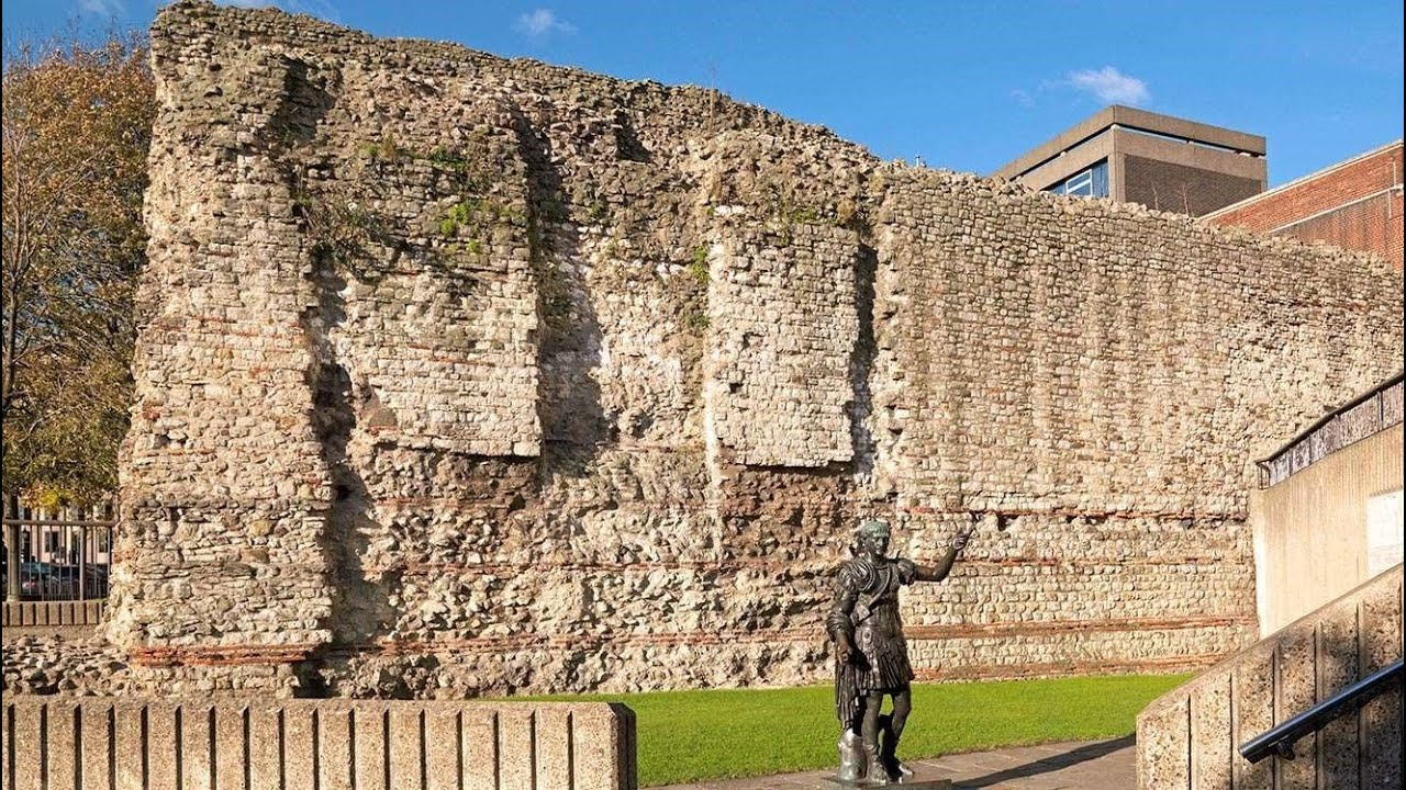 london wall hd documentary 1800 year old roman londinium youtube