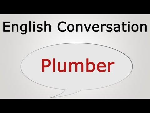learn English Conversation: Plumber