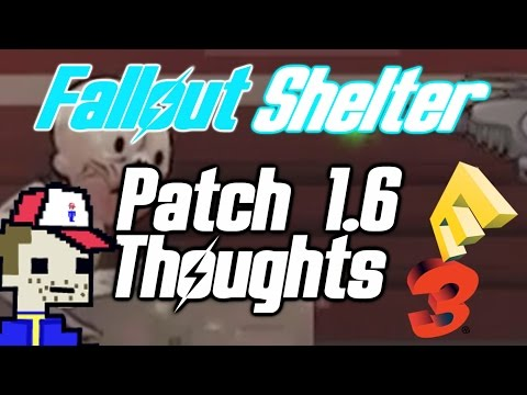 Fallout Shelter Patch 1.6 Thoughts